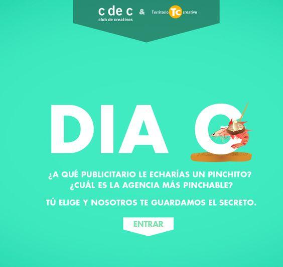 ¿Cuál es la agencia más pinchable? Una idea de Territorio Creativo para el Club de Creativos #elDíaG #Publicidad #España #Eventos