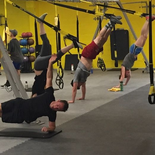 Show this Monday who's the boss  #trx #trxtraining #earnit