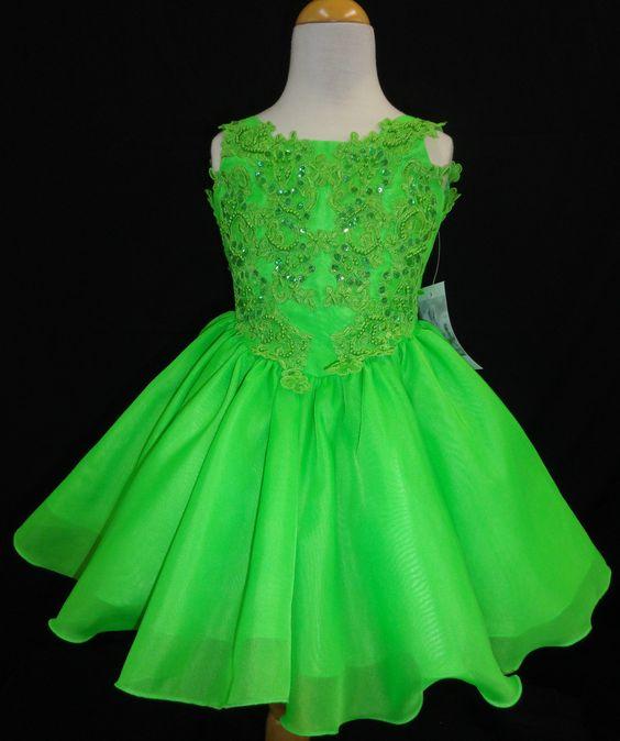 Girls dresses Green flowers and Flower on Pinterest