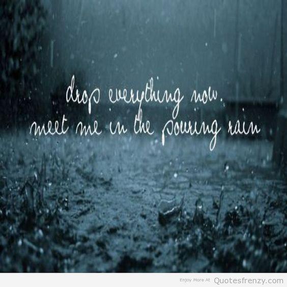 Cold - rain song / with lyrics - YouTube