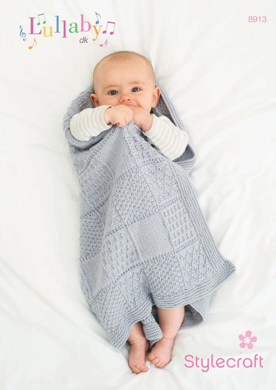 FREE pattern: Stylecraft baby blanket. Download today at LoveKnitting knit ...