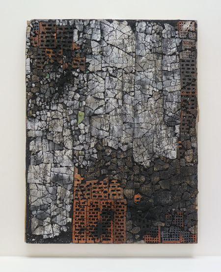 PEKKA PAIKKARI (b. 1960)3. (PEK006) Protection, 2009, ceramic, bricks and mixed media, 151 x 117 cm