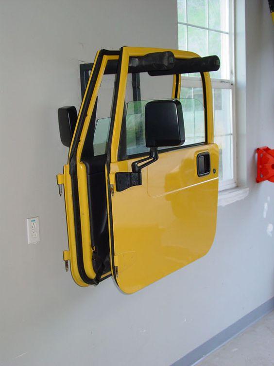 008-199 Door Hanger [008-199] - $49.95 : Lange Originals, Your source for Jeep hardtop lifts and other Jeep Wrangler accessories.
