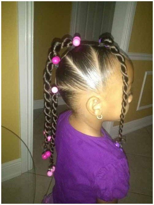 Pin On Braid Hairstyles For Kids