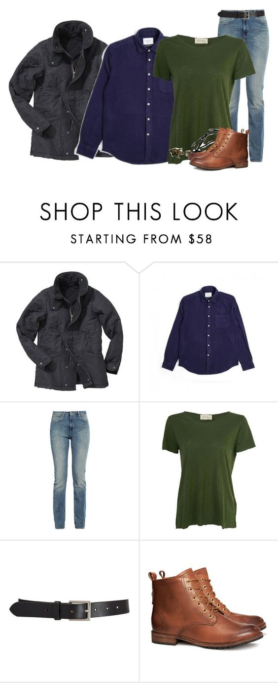 """""""Dean Winchester"""" by inspiredoutfitsfandoms on Polyvore featuring mode, Barbour, Wrangler, American Vintage, Barneys New York et H&M"""