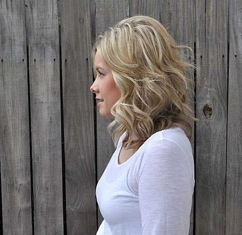 corto y medio de longitud Cortes de pelo