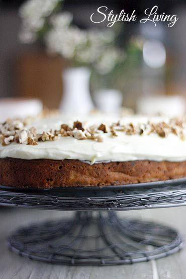 Der weltbeste Karottenkuchen, da kann der carrot cake von Starbucks nicht mithalten! | Stylish Living