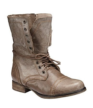 Steve Madden Troopa Boots, Stone, $99.99