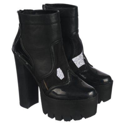 Cape Robbin Women's High Heel Platform Boot Rocker 06