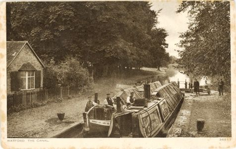 Watford, The Canal. c. 1920s.