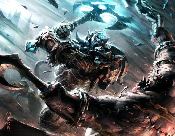 #wowtcg #warcraft #draenei #warrior #guerrier