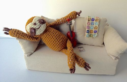 Ravelry: LisaSh's what a cutie! Sloth