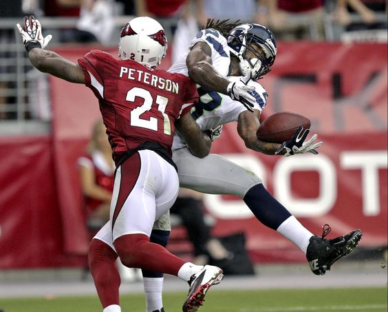 Arizona Cardinals cornerback Patrick Peterson. Week 1 2012 season