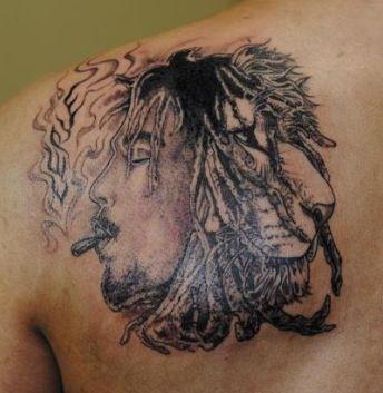 bob marley lion tattoo love it tatttssss pinterest lion tattoo bobs and lion. Black Bedroom Furniture Sets. Home Design Ideas