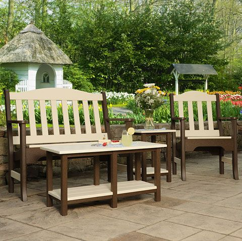 Garden Furniture Traditional traditional eco friendly amish made patio furniture | outdoor