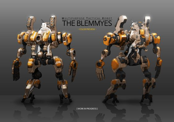 ArtStation - 'The Blemmyes' with Test Pilot - WIP, Jae seung Cho