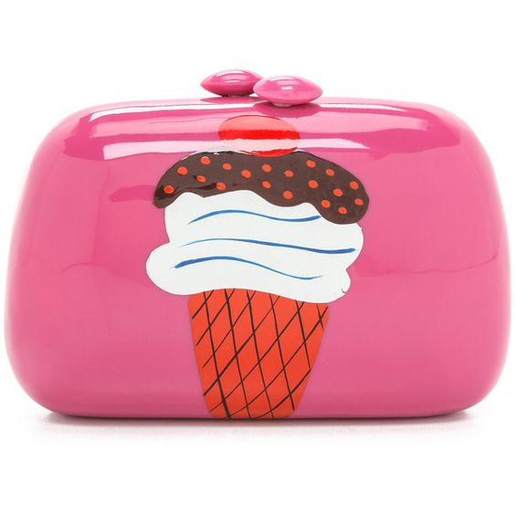 "SERPUI MARIE ""Ice Cream"" Clutch"