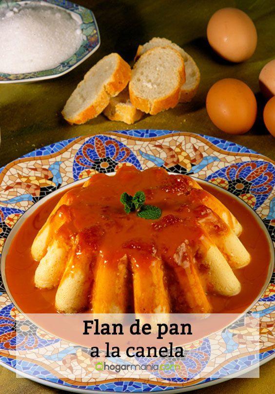 Receta De Karlos Arguinano De Flan De Pan A La Canela Flan