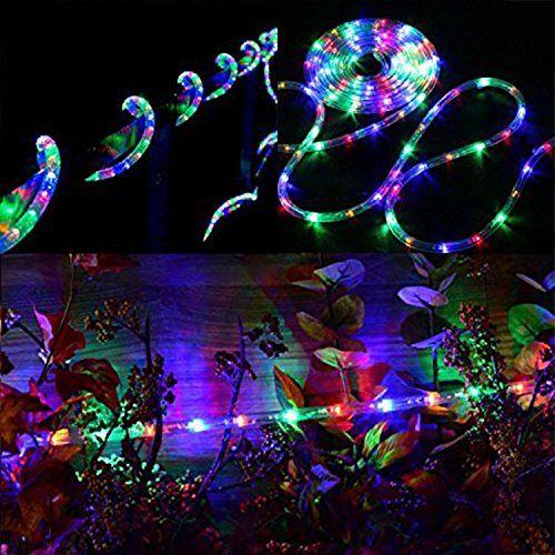 Pysicala 110v 2 Wire Waterproof Led Rope Light Kit For Background Lighting Decorative Lighting Outdoor Decorative Lighting Led Rope Lights Led Rope Rope Light