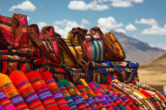 United Colors of Peru by Rotweiss.TV - Love the vivid colors.