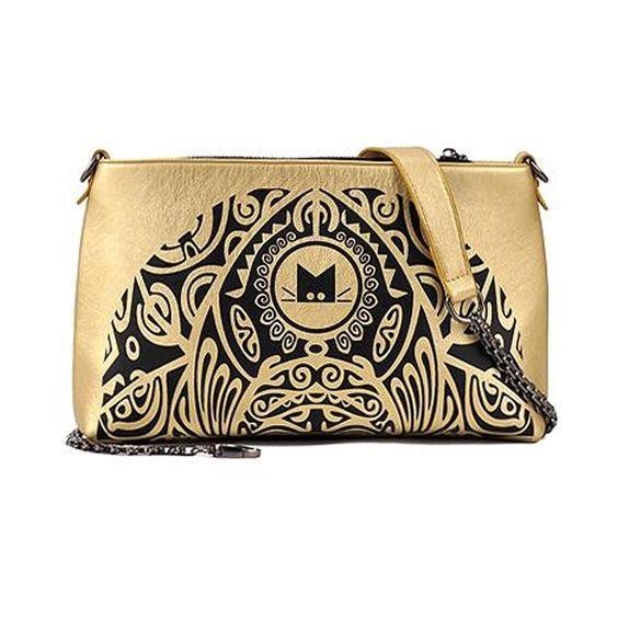 Gold Kitty Print Clutch / Sling Bag RM45.90