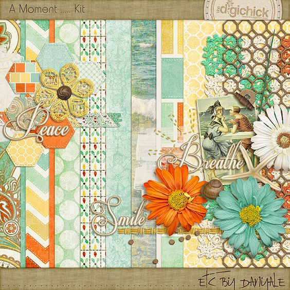 Quality DigiScrap Freebies: A Moment mini kit freebie from Etc By Danyale