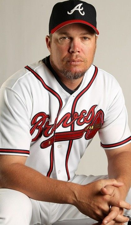 Chipper Jones - #10 - Third Base/Outfielder - Atlanta Braves - No one can hate this man!