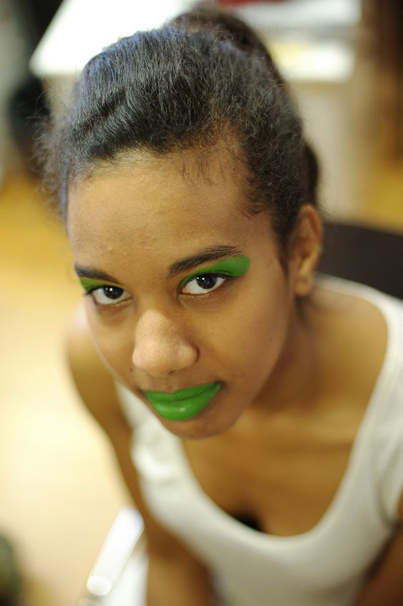 Labbra verdi..al bacio! Foto: Christian Lavarian