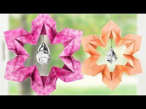 Simple Origami Heart Flower Bouquet - Design Improvised | 360x480