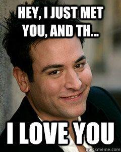 Hahahaa!  SO true!  I love you too, Ted!