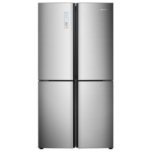 Hisense 20 Cu Ft 4 Door French Door Refrigerator With Ice Maker