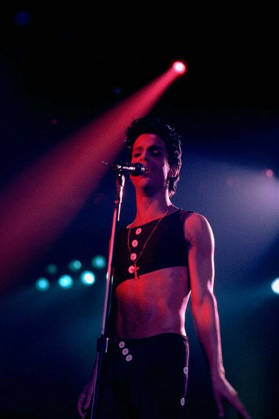 Prince 30 Years in Pictures — Prince love love love Parade Era: