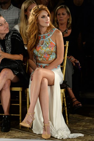 Bella Thorne at the Sherri Hill SSI5 Show. Makeup by Andrea Tiller.