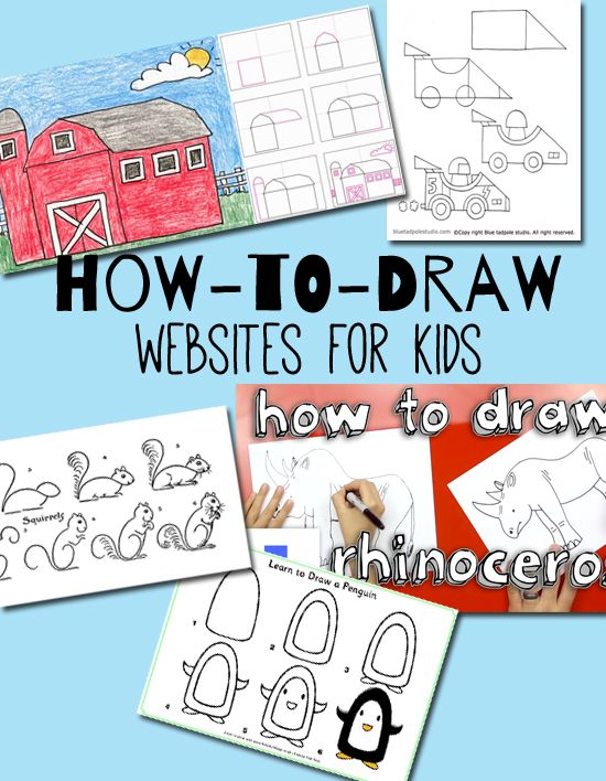 5 How To Draw Websites For Kids Sketchbooks For Kids