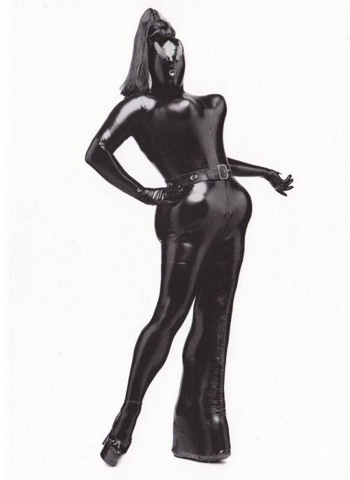 Leigh Bowery, a major fashion influence on Lady Gaga...