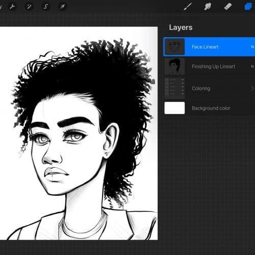 Best Brushes For Painting On Procreate Alicja Prints Digital Art Tutorial Cartoon Drawings Digital Drawing