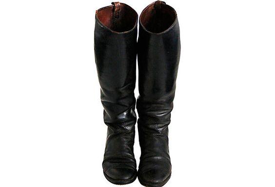 English  Riding Boots, Pair on OneKingsLane.com