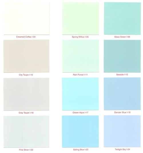 Pastel interior paint colors nelson vinyl latex interior for Home room color guide