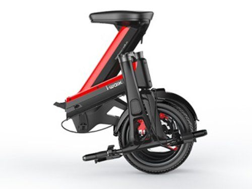 I Walk 350w Foldable Electric Commuter Scooter For Adults Lithium