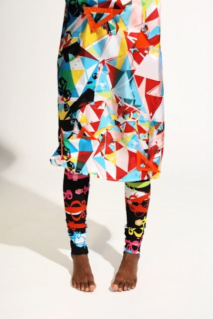 Eclectic prints by Emma Lundgren, Royal College of Art, 2011