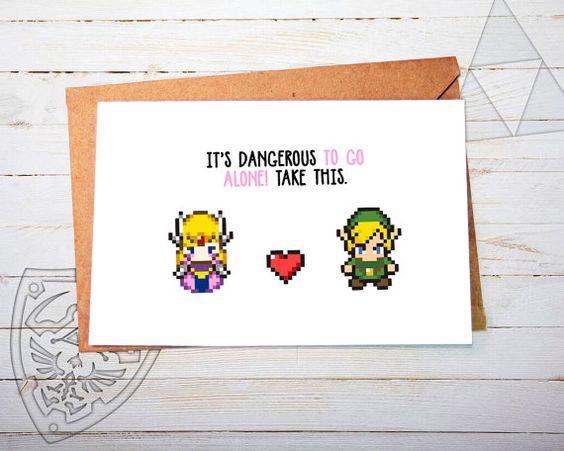 Hey, diesen tollen Etsy-Artikel fand ich bei https://www.etsy.com/de/listing/260649341/cute-zelda-greeting-card-link-valentines