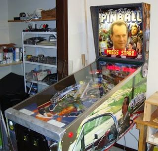 more of the Paxton pinball machine