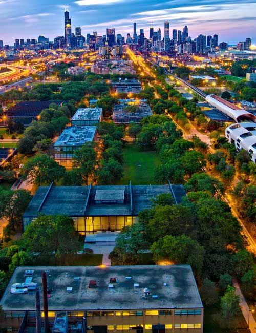 Illinois Institute Of Technology Stuart School Of Illinois Institute Of Technology Urban Planning Modern Architecture