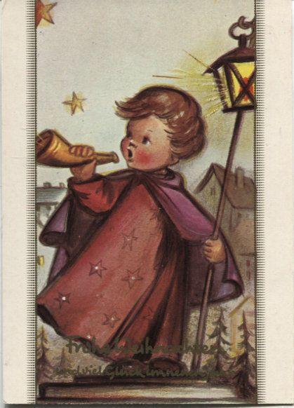 Alte Postkarte - Frohe Weihnachten und viel Glück im neuen Jahr • EUR 3,75 - PicClick DE
