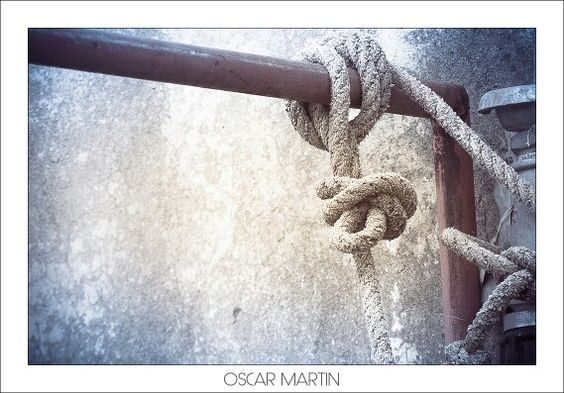 Nudo marinero tierra adentro. #oscarmartinlp