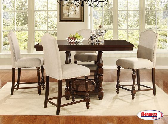 D002 Dining Room Set - Berrios te da más