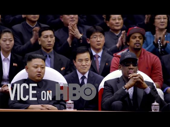 VICE on HBO Season One: The Hermit Kingdom  ... At least watch the last 5 minutes if you don't have time... but do watch it in full, it's a fascinating universe over there.