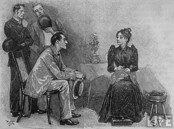 Sidney Paget. Sherlock Holmes illustration