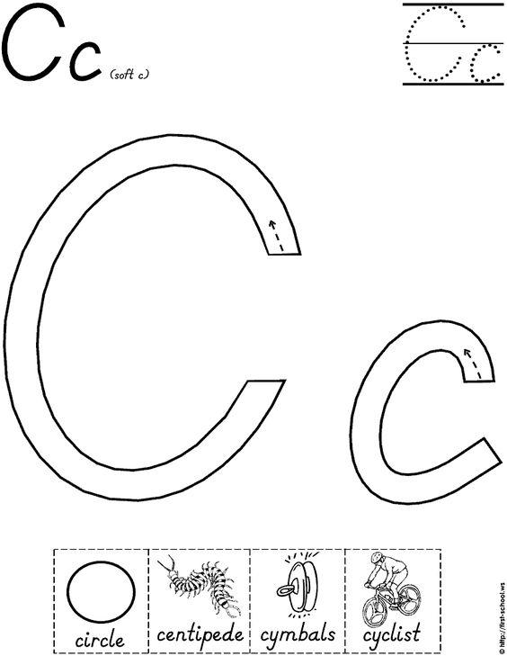 letter c worksheet for handwriting intervention school pinterest letter c worksheets. Black Bedroom Furniture Sets. Home Design Ideas