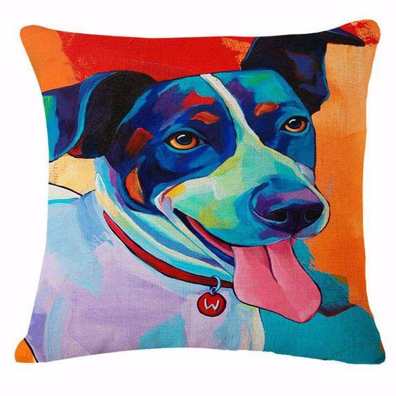 Cute Dog Pillow Case
